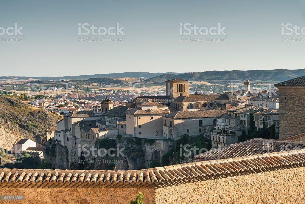 Cuenca (Spain), casas colgadas royalty-free stock photo