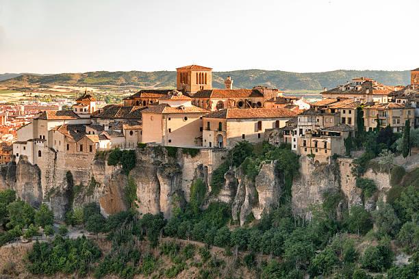 Cuenca (Espanha), casas colgadas - foto de acervo