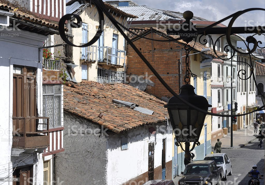 Cuenca - old city of conquistadors in Latin America royalty-free stock photo