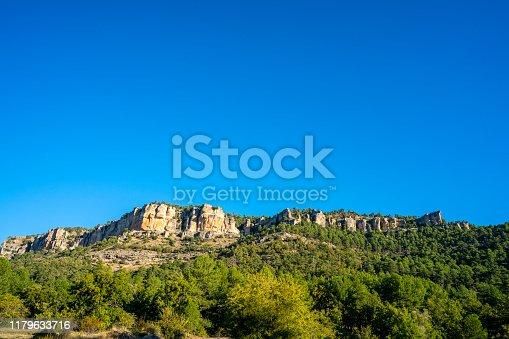 Cuenca Serrania of Spain in Una Uña