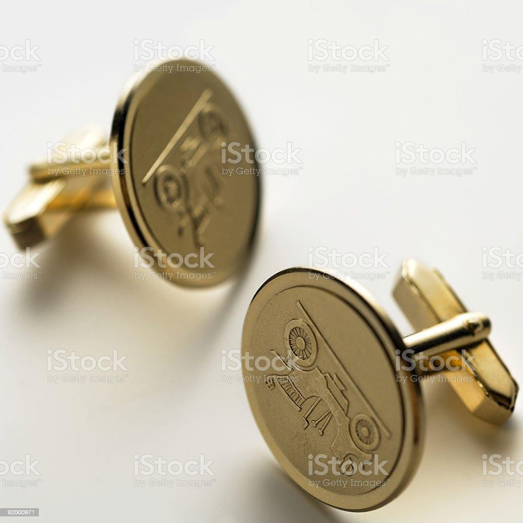 cuff links stock photo