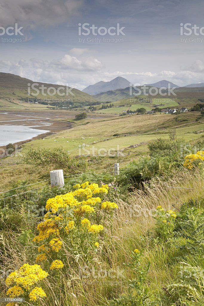 Cuillin Hills, Isle of Skye royalty-free stock photo
