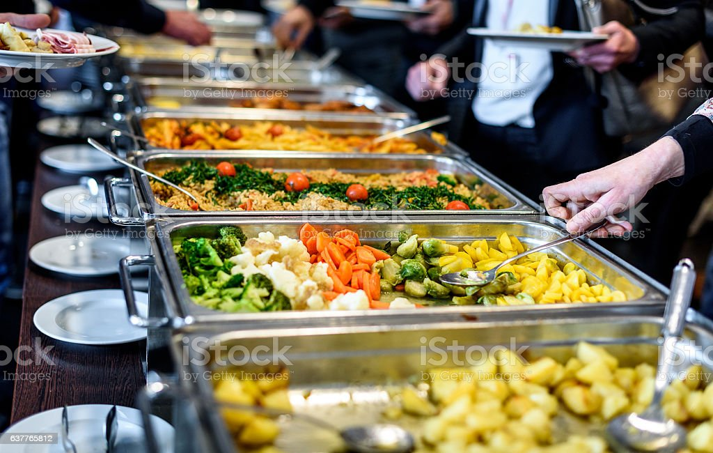 Cuisine Culinary Buffet Dinner Catering Dining Food Celebration - foto de stock