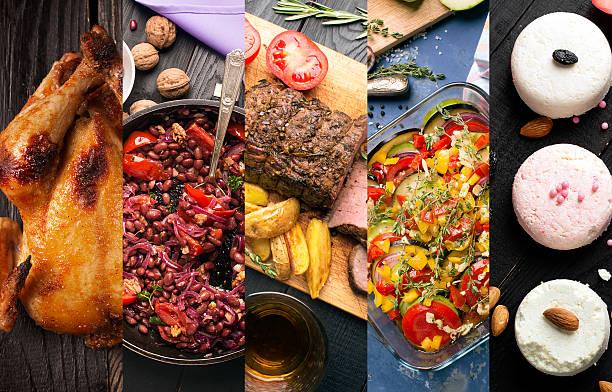 cocina de distintos países - comida francesa fotografías e imágenes de stock