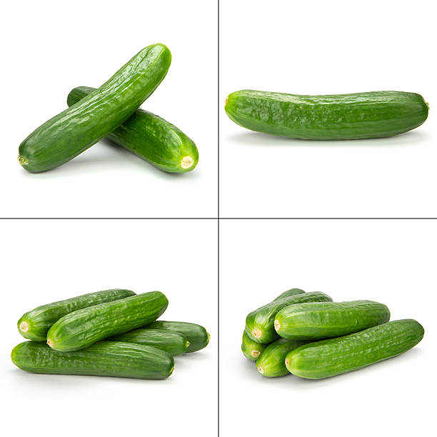 cuke collection - cucumber stock photos and pictures