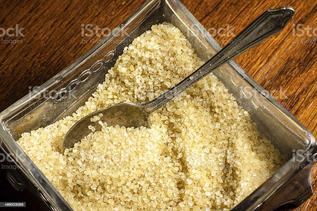 Cukier trzcinowy stock photo