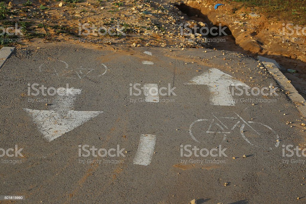 Cul De Sac, Dead End stock photo