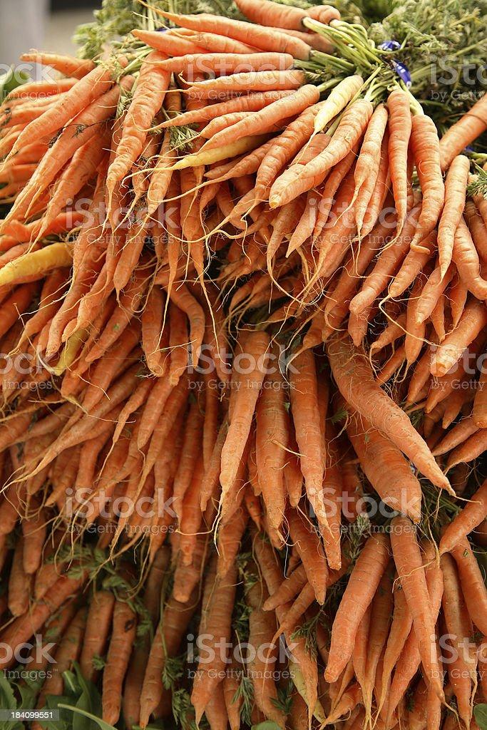 Culinary: Carrots royalty-free stock photo
