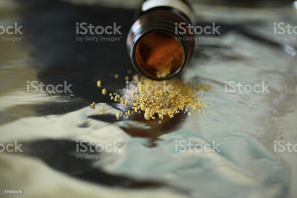 Culinary: Fennel Pollen stock photo