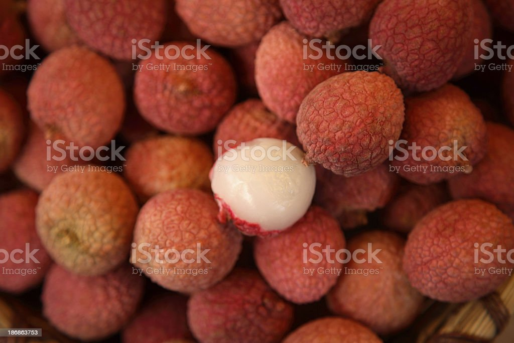 Culinary: Lychees stock photo