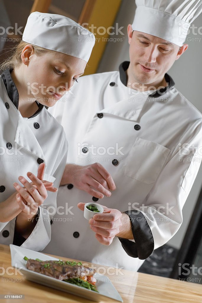 Culinary School royalty-free stock photo