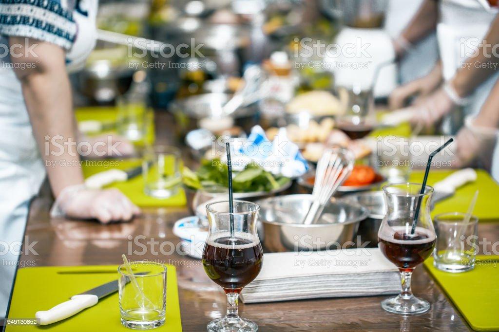 Photo Libre De Droit De Ecole De Cuisine Cuisine Professionnelle
