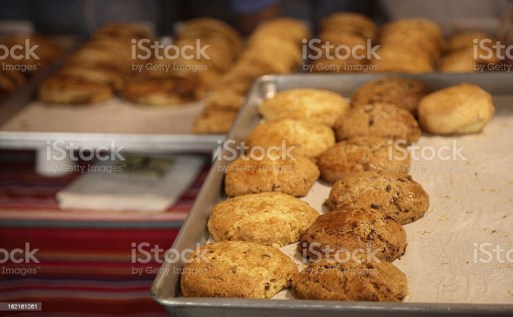 Culinary: Scones royalty-free stock photo
