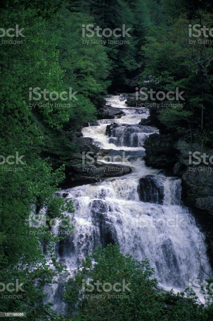 Cullajasa Falls stock photo