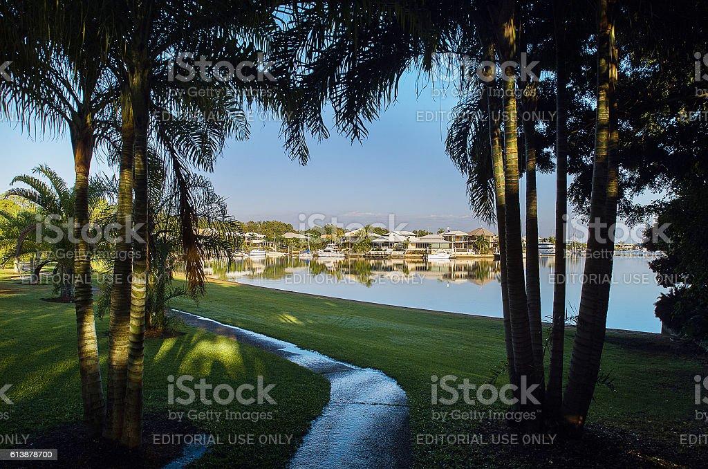 Cullen Bay Darwin stock photo