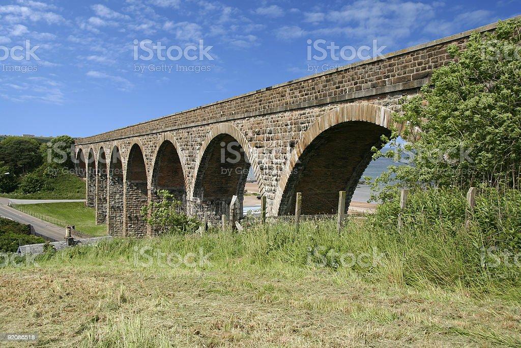 cullen viaduct stock photo