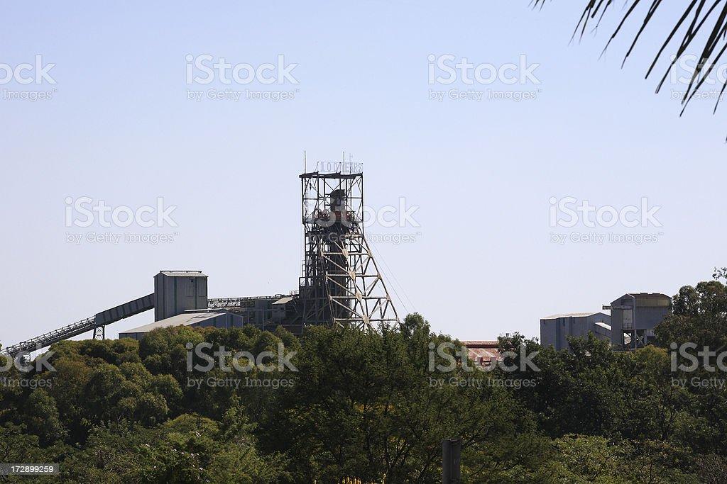 Cullinan Diamond Mine South Africa stock photo