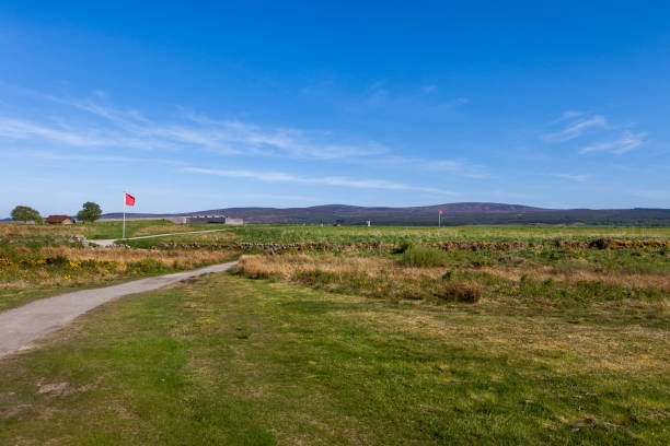 Culloden Battlefield in Scotland. Culloden Battlefield in Scotland, UK. culloden stock pictures, royalty-free photos & images