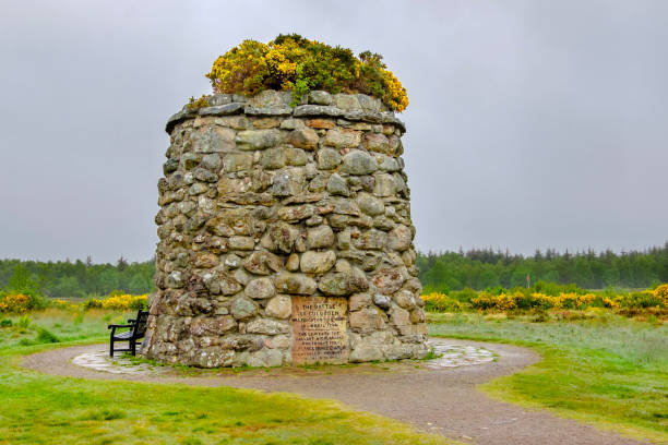 Culloden battlefield, site of the final Jacobite battle occurred on 16 April 1746. The nearby Culloden Visitor Centre explains the dynamics of the bloody event. Culloden battlefield, site of the final Jacobite battle occurred on 16 April 1746. The nearby Culloden Visitor Centre explains the dynamics of the bloody event. culloden stock pictures, royalty-free photos & images