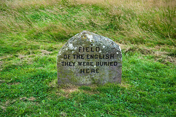 Culloden grave marker  culloden stock pictures, royalty-free photos & images