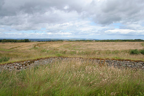 Culloden Moor Site of the famous Jacobite defeat in 1746 culloden stock pictures, royalty-free photos & images