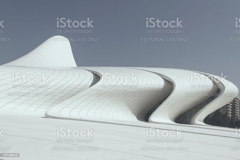 Cultural Center in Baku stock photo