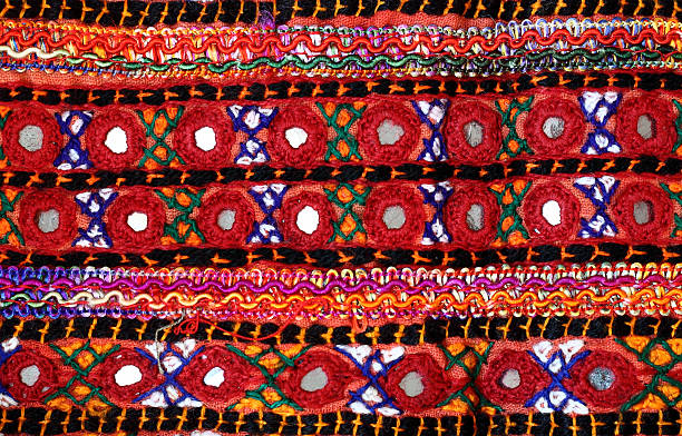 Cultural Embroidery stock photo