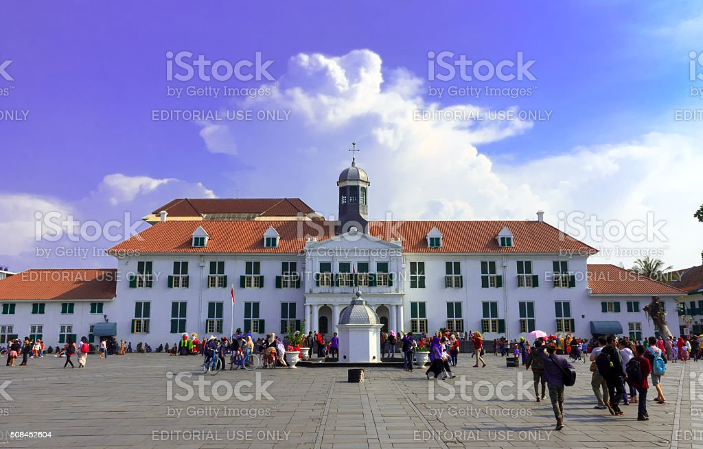 Cultural Heritage of Old Jakarta stock photo
