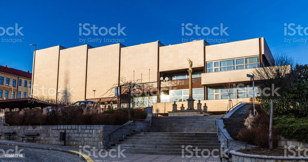 Culture House - Uhersky Brod, Czech Republic stock photo