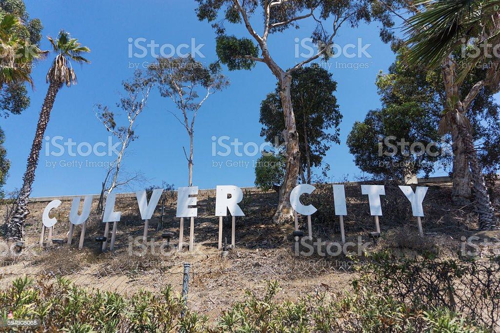 Culver City California Sign stock photo