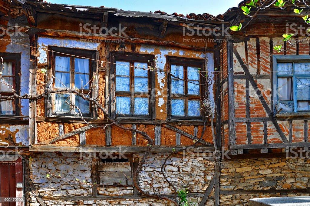 Cumalikizik village stock photo