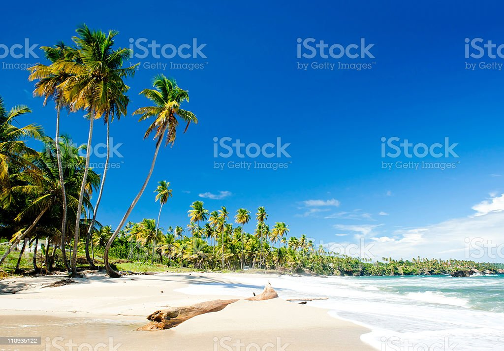 Cumana Bay stock photo