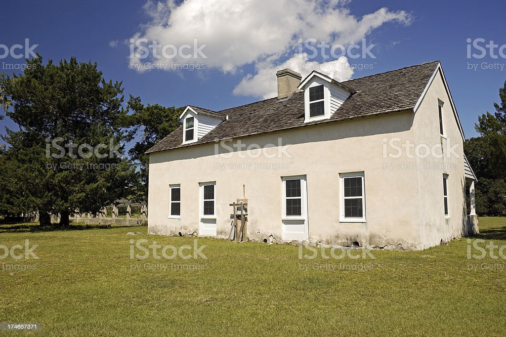 Cumberland Island GA Old Caretaker House royalty-free stock photo