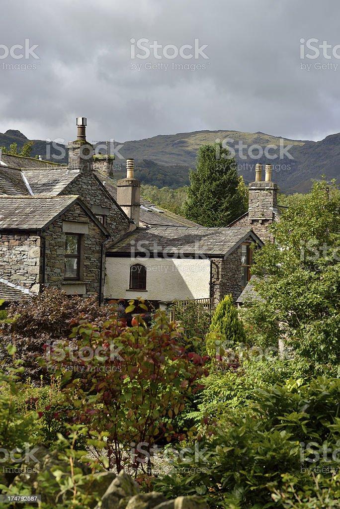 Cumbria. royalty-free stock photo