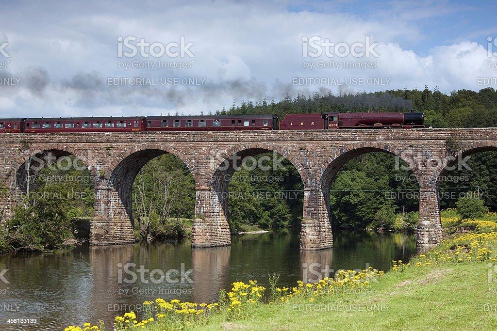 Cumbrian Mountain Express stock photo