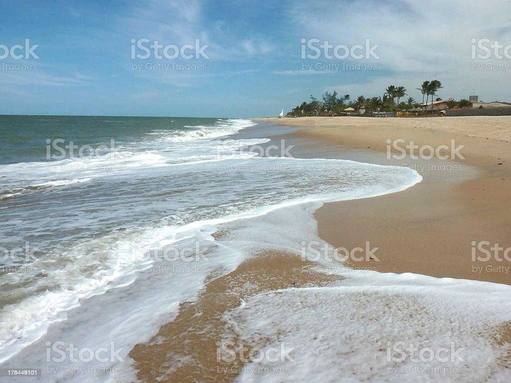 Cumbuco beach, Cearà - Brazil stock photo