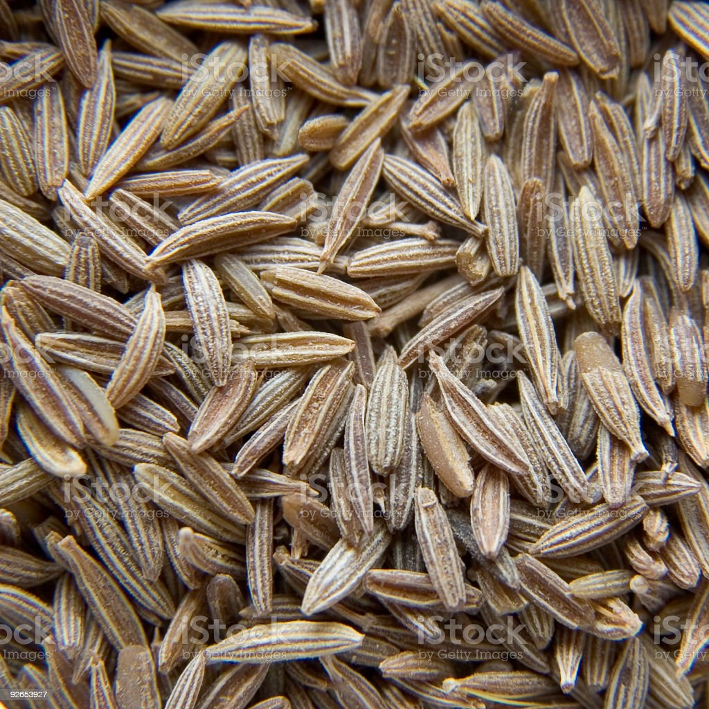 Cumin background royalty-free stock photo