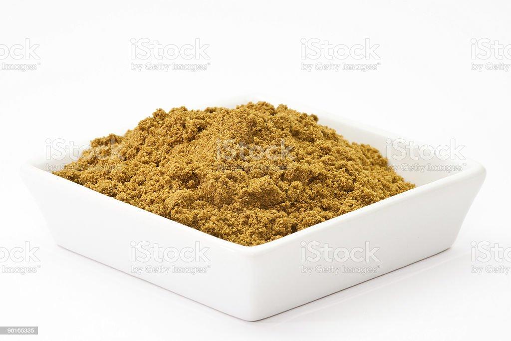 cumin powder stock photo
