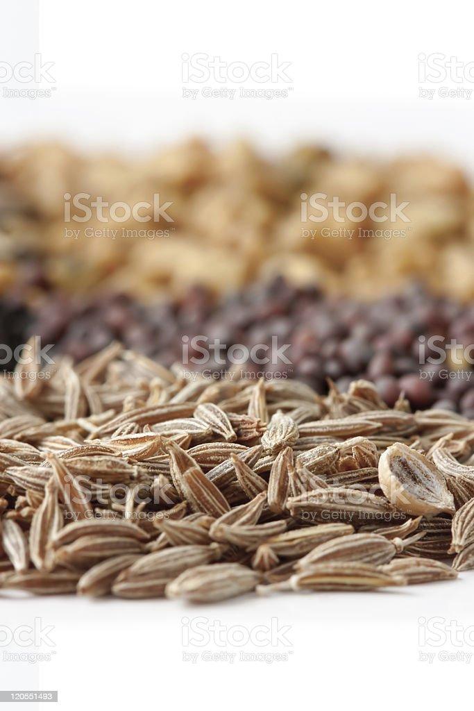 Cumin Seed stock photo