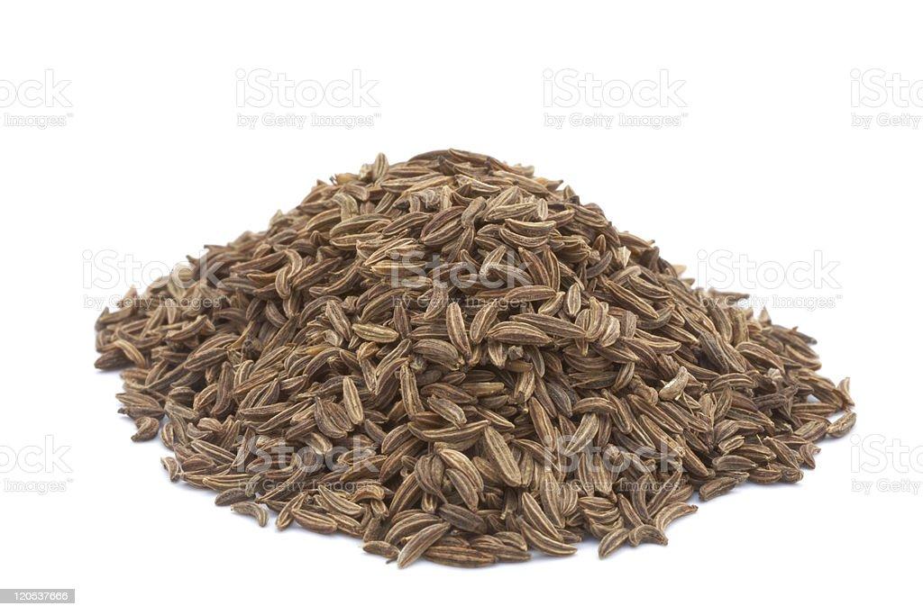 cumin seeds royalty-free stock photo