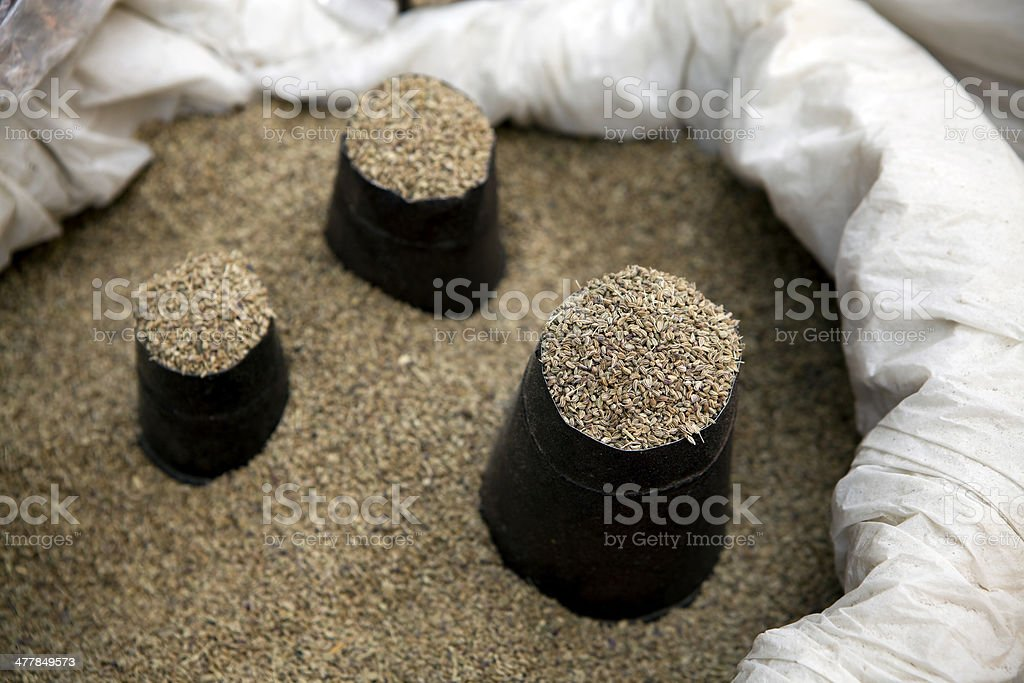 Cumin Seeds royalty-free stock photo