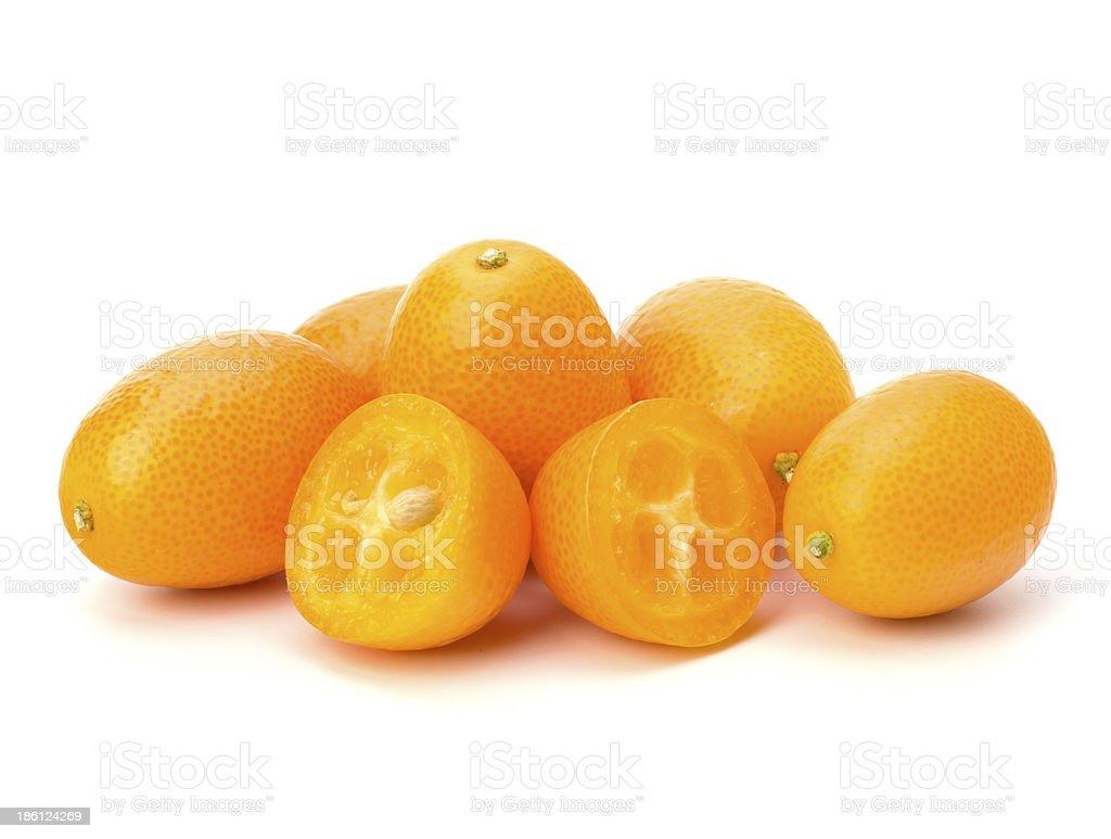 Cumquat or kumquat stock photo
