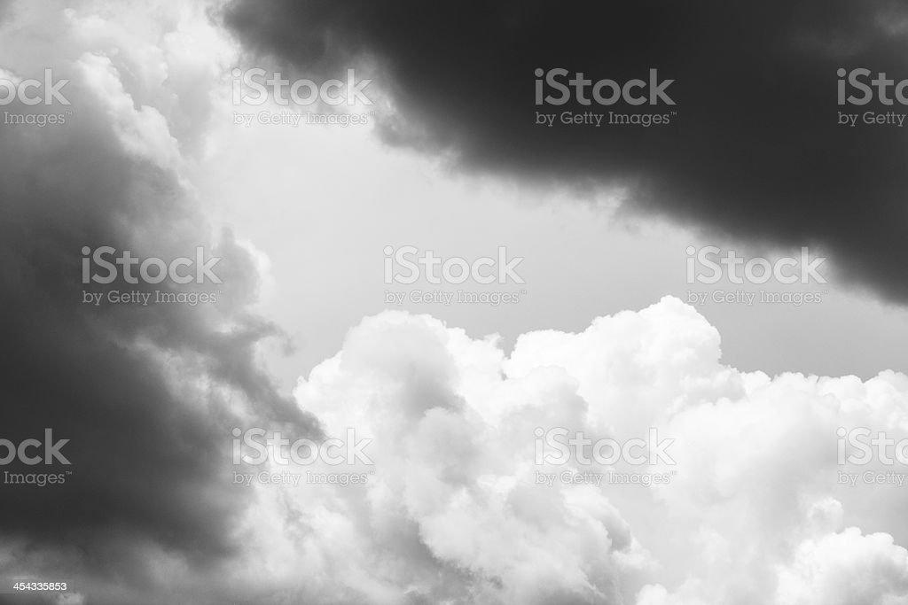 Cumulonimbus Nimbostratus Storm Cloudscape Sky royalty-free stock photo
