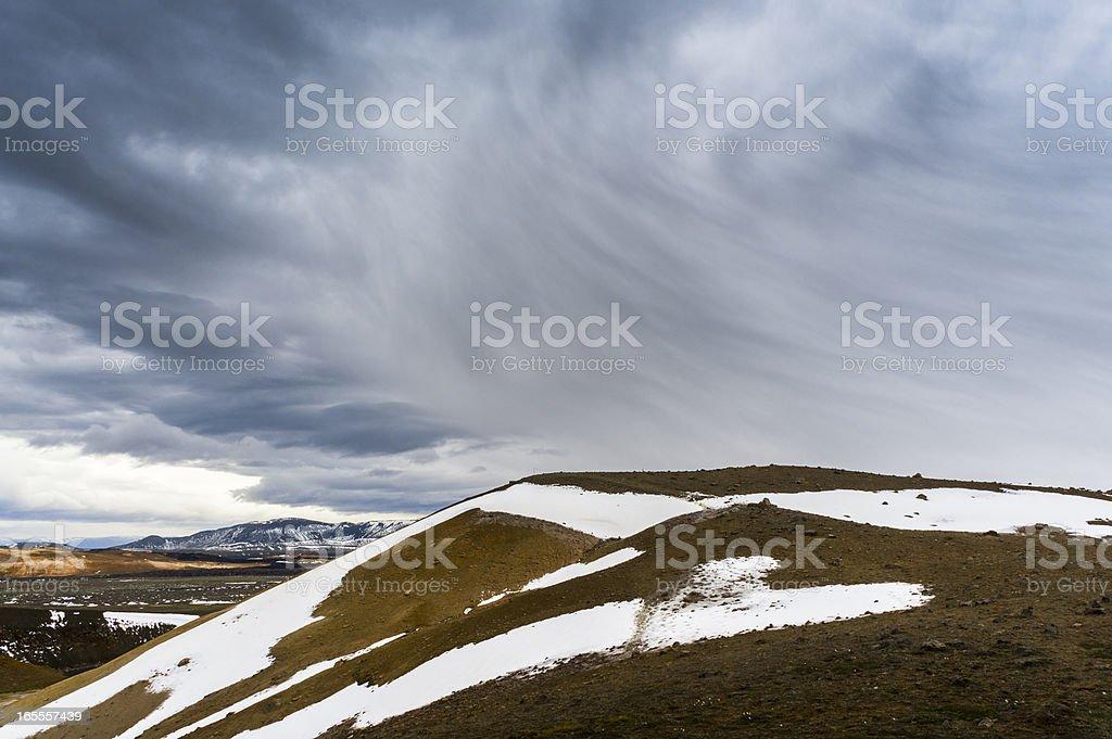 cumulonimbus virga royalty-free stock photo