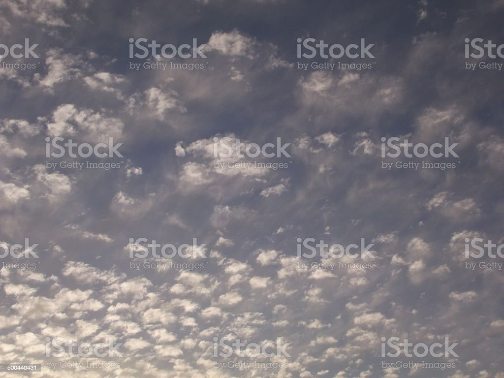 Cumulous Cloud Background royalty-free stock photo
