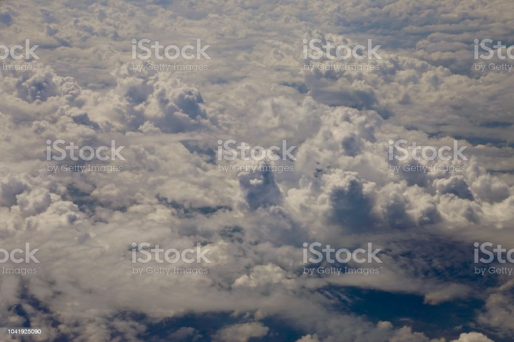 Cumulous Clouds stock photo