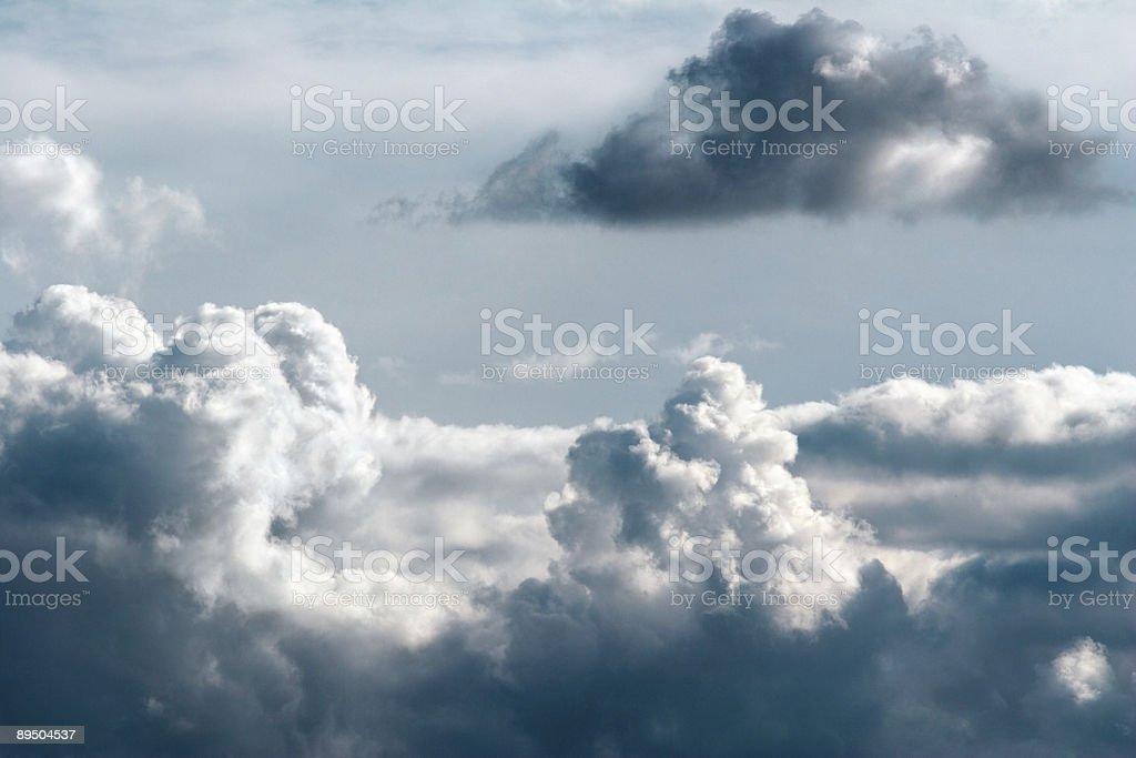 Cumulus 5 royalty-free stock photo