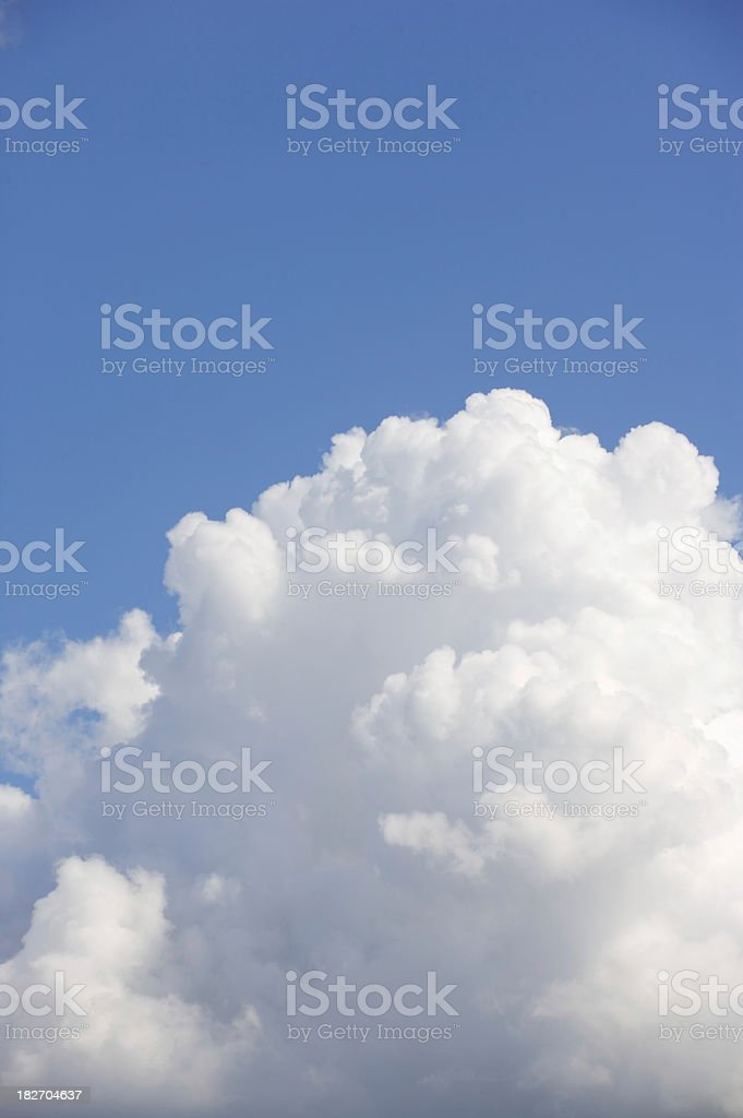 cumulus cloud royalty-free stock photo