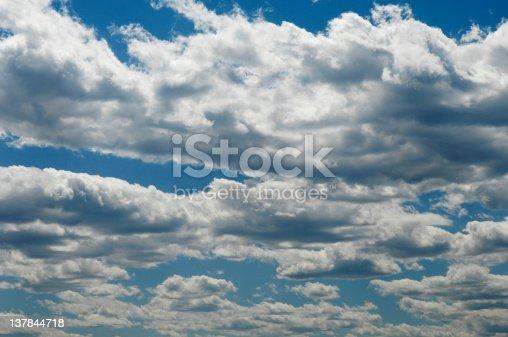 Cumulus Cloudscape