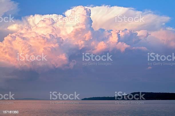 Photo of Cumulus congestus clouds over Madison
